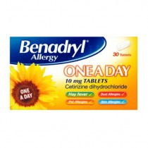 Benadryl Allergy One-a-day - 30 Tablets