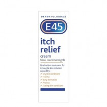 E45 Itch Cream for Eczema and Itchy Skin 100g