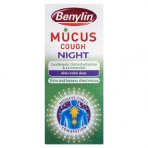 Benylin Mucus Night Cough Syrup 150ml