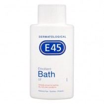 E45 Emollient Bath Oil for Dry & Itchy Skin 500ml