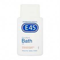 E45 Emollient Bath Oil for Dry Skin & Itchy Skin 250ml