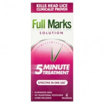 Full Marks Solution 200ml Head Lice Treatment