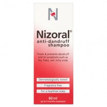 Nizoral Shampoo 60ml Anti-Dandruff Treatment