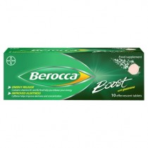 Berocca Boost 10 Effervescent Tablets