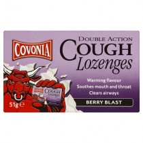 Covonia Double Action Cough Lozenges Berry Blast 51g