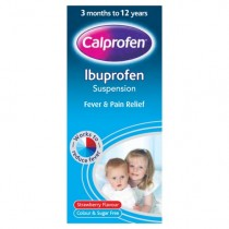 Calprofen Sugar Free Ibuprofen Suspension 200ml
