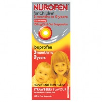 Nurofen For Children Strawberry Flavour x 100ml