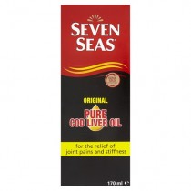 Seven Seas Pure Cod Liver Oil Liquid 170ml