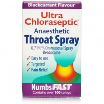 Ultra Anaesthetic Blackcurrant Throat Spray 15ml