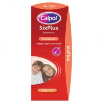 Calpol SixPlus Orange Suspension 200ml