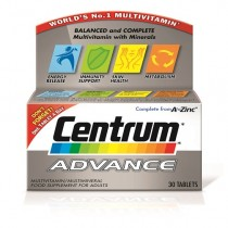 Centrum Advance Multivitamin-Minerals - 30 Tablets