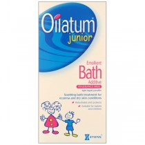 Oilatum Junior Emollient Bath Liquid For Itchy Dry Skin Conditions 300ml