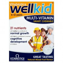 Vitabiotics Wellkid Chewable Tablets x 30