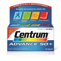 Centrum Advance 50+ Multivitamins & Minerals - 30 Tablets