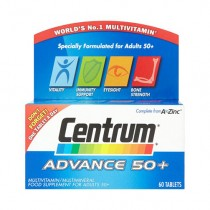 Centrum Advance 50+ Multivitamins & Minerals - 60 Tablets
