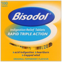 Bisodol Triple Action 100 Indigestion Relief