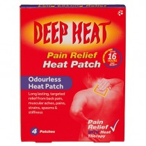 Deep Heat Pain Relief - 4 Heat Patches