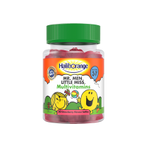 Haliborange Mr. Men Little Miss Multivitamin 30 Strawberry Softies