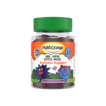 Haliborange Mr. Men Little Miss Immune Support 30 Blackcurrant Softies