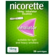 Nicorette Inhalator 15mg - 36 Cartridges