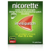 Nicorette Invisi 25Mg Patch  14S