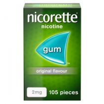 Nicorette Original Gum 2mg - 105 Pieces