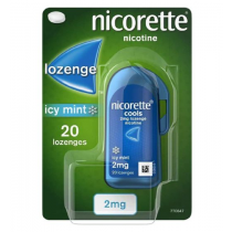 Nicorette Cools Icy Mint 2mg - 20 Lozenges