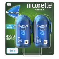 Nicorette Cools Mint 2mg - 80 Lozenges
