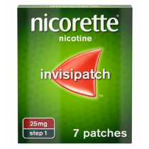 Nicorette Invisi Patch 25mg - 7 Patches