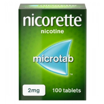 Nicorette Microtab 2mg - 100 Tablets