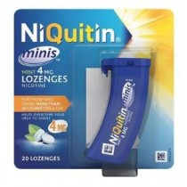 NiQuitin Mini's 4mg - 20 Mint Lozenges