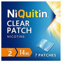 NiQuitin Clear 14mg Step 2 - 7 Patches