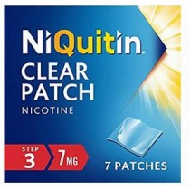 NiQuitin Clear 7mg Step 3 - 7 Patches