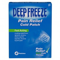 Deep Freeze Cold Patches 4 Muscular Pain Relief