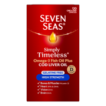 Seven Seas Cod Liver Oil High Strength capsules x 120