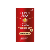 Seven Seas Ex High Strength Pure Cod Liver Oil Healthy Joint Tabs