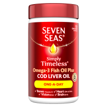 Seven Seas One A Day Pure Cod Liver Oil Capsules 120