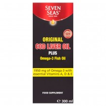 Seven Seas Pure Cod Liver Oil Liquid 300ml